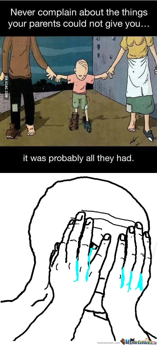 Can't Handle Dem Feels...i Was A Stubborn Child. I Always Wanted More. :(