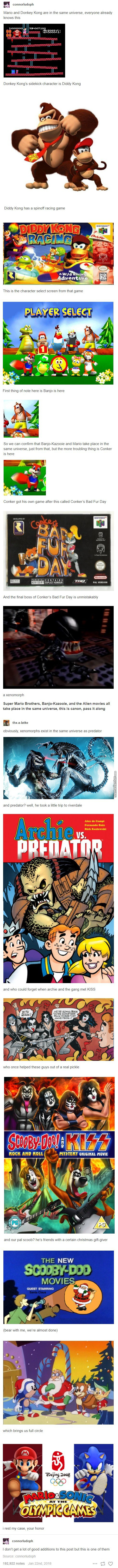 Can't Wait For The Predator To Face Off Againts Donkey Kong