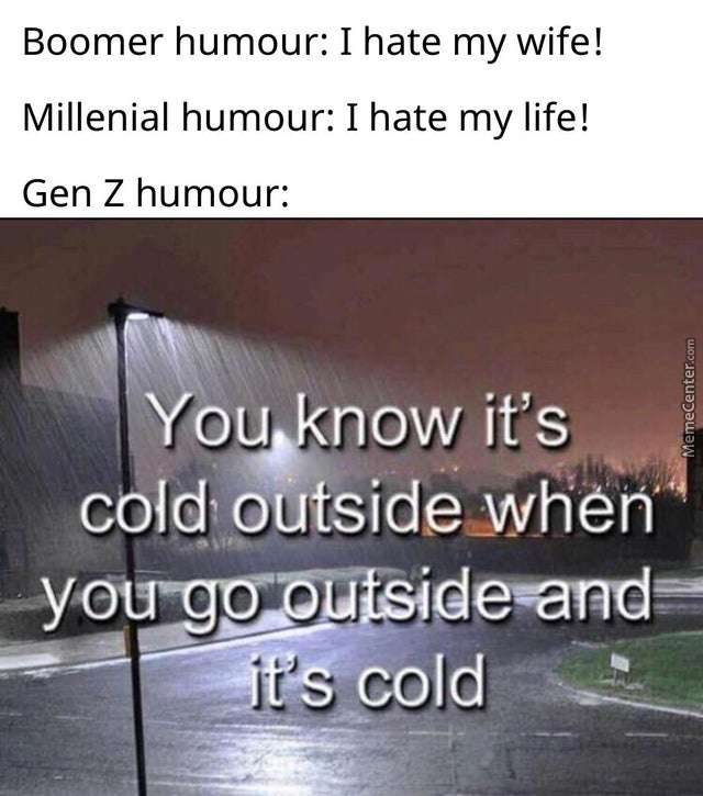 Can Confirm, It's Cold Outside