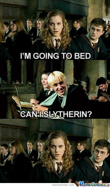 Can I Slytherin?