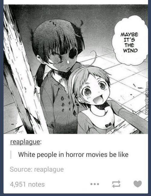 Can Someone Tell The Black People Horror Is ?
