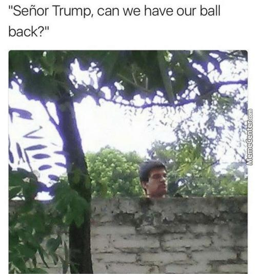 Can We Have Our Ball Back?