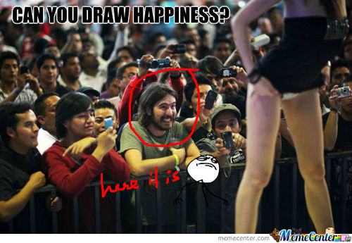 Can You Draw Happiness?