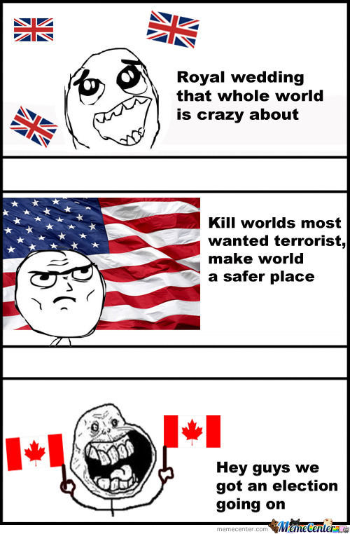 Canada Lol By Mob Meme Center
