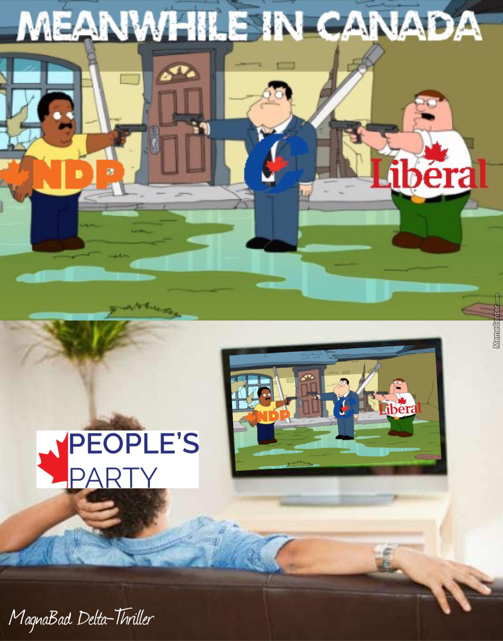 Canadian Debate In A Nutshell. (Hope The Ppc Wins)