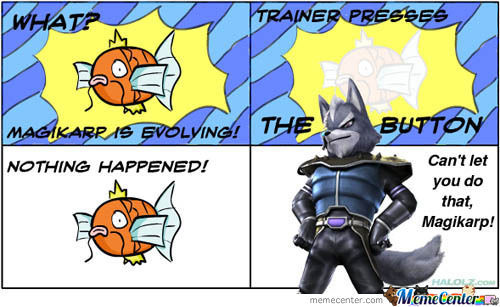 Can't Let You Do That, Magikarp!