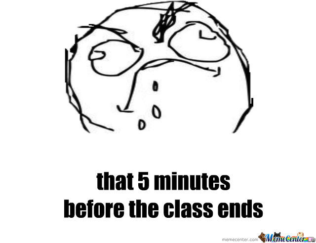 Can't Wait For 5 Minutes...