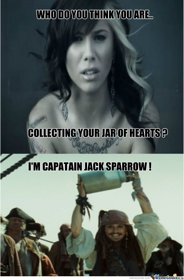 Capatain Jack Sparrow ;)