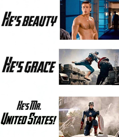 Captain America's Description