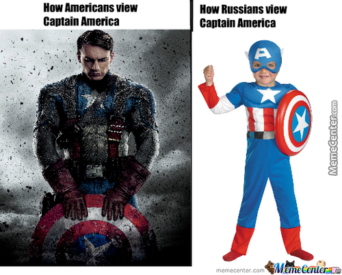 Captain America Is A Real Faggot In Europe Though.