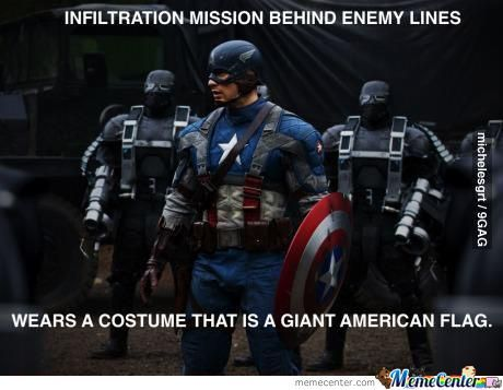 Captain America Logic