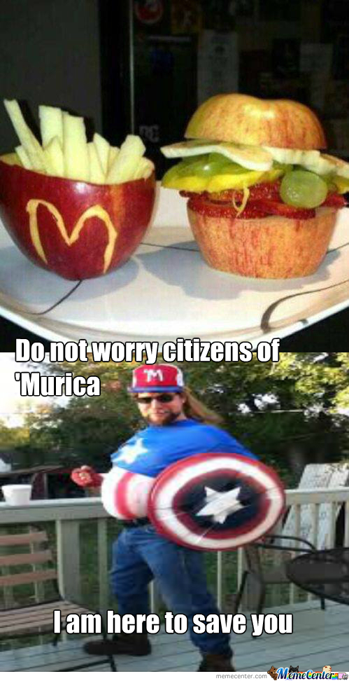 Captain Murica Will Save The Day