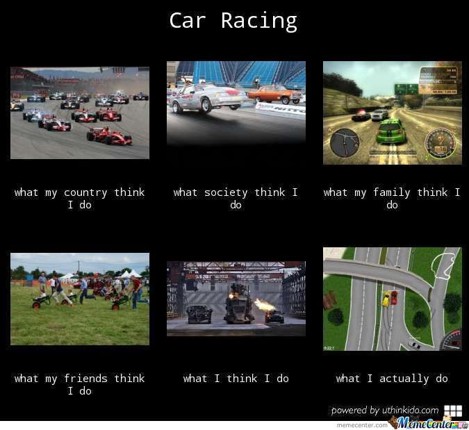 Car Racing By Recyclebin Meme Center