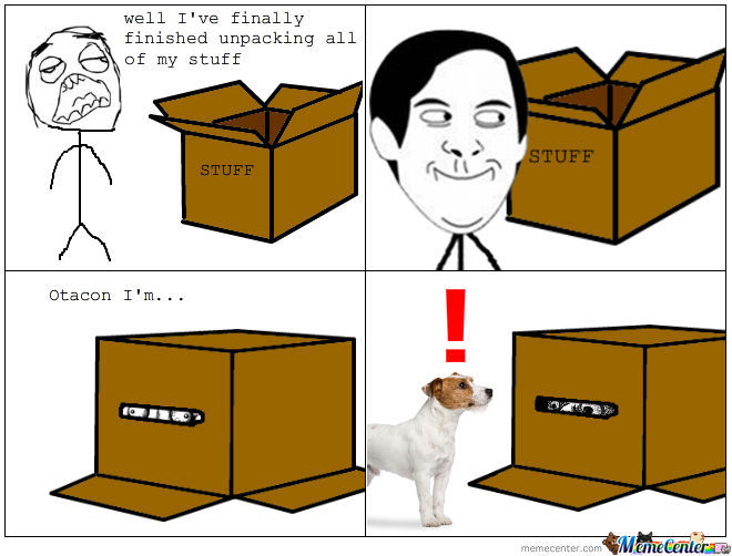 Cardboard Boxes by andhy1001 - Meme Center
