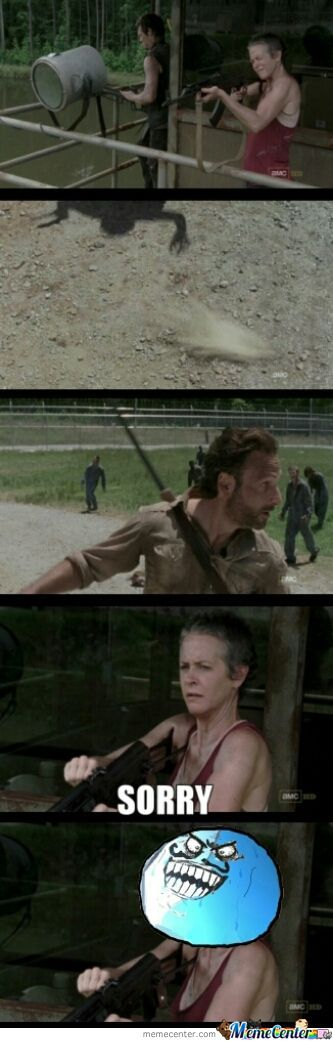 Carol Wants Revenge For Sophia (Check Out The Laughing Dead On Facebook!)