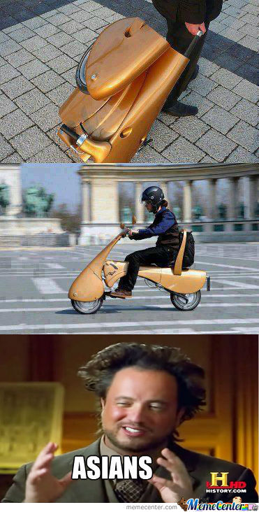 Carry A Scooter That Carries Tou