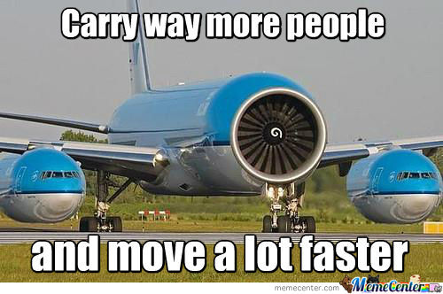 Carry Way More People...