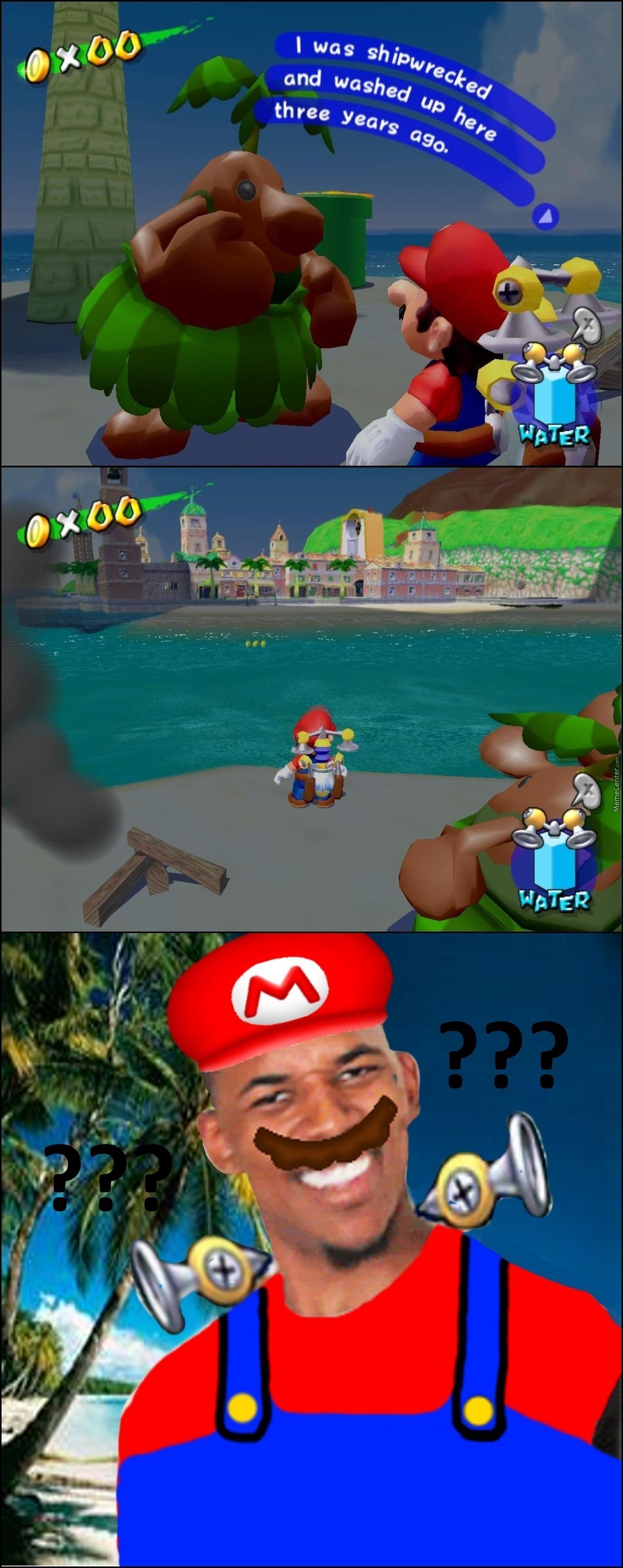 Cast Away - Super Mario Sunshine