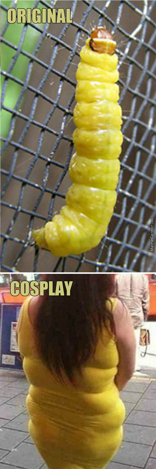 Caterpillar Cosplay
