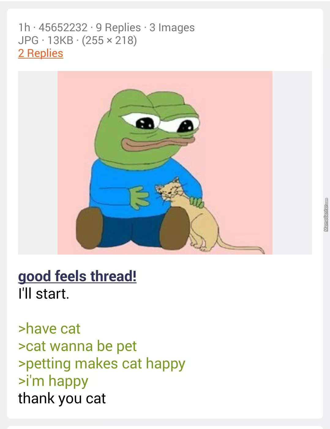 Cats Are Nice Pets