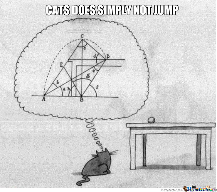 Cats Does Simply Not Jump