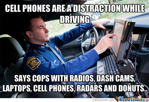 Cellphones Are A Distraction?