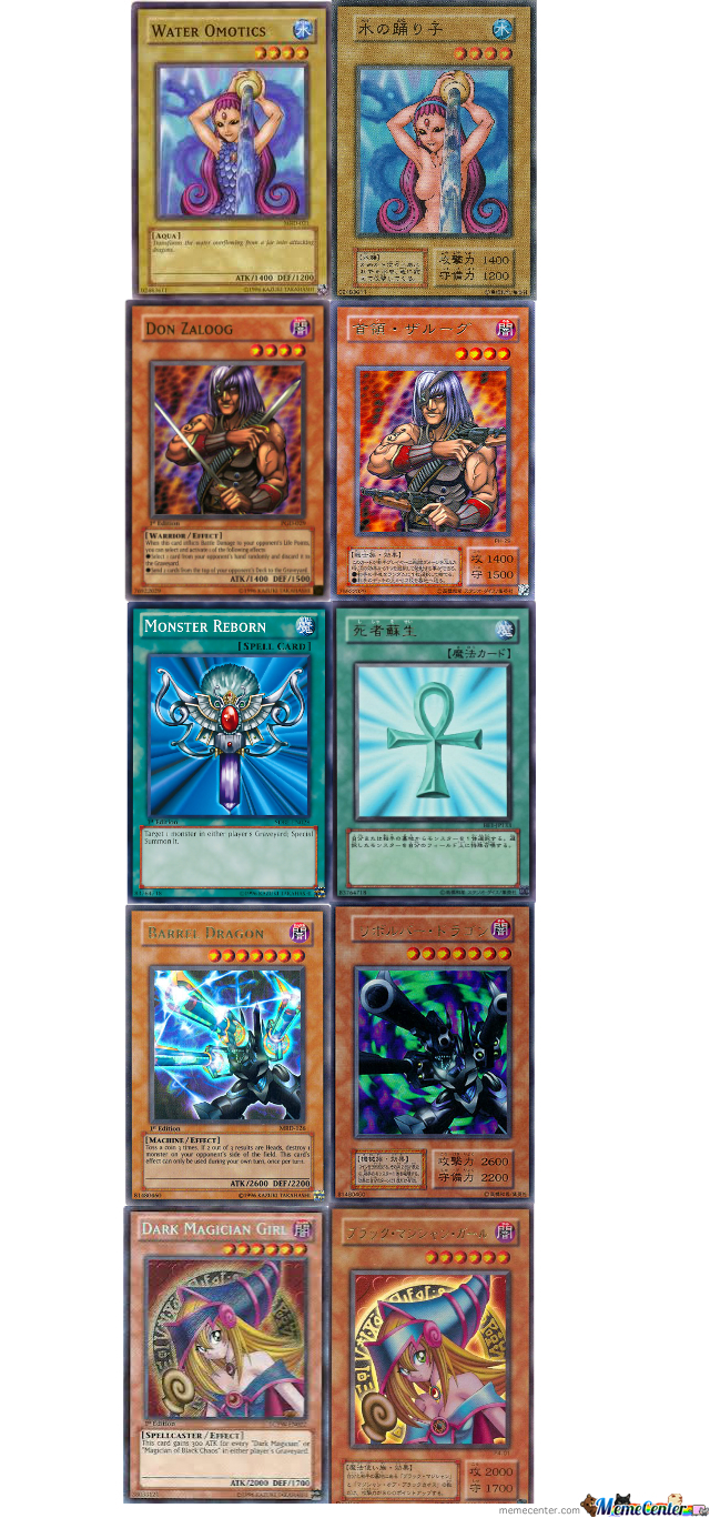 Censored Yu Gi Oh Cards By Trolluniverse69 Meme Center