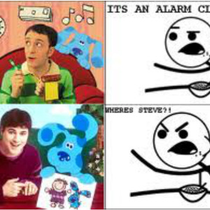Cereal Guy Looks To Look At Blues Clues By Deluxefag Meme Center