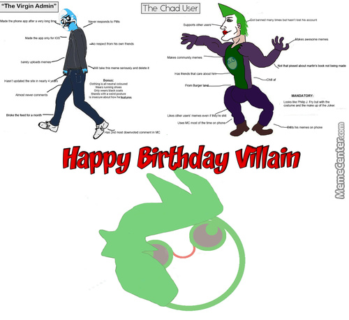 Chad Villain (Happy Birthday And Thanks For The Support Fam)