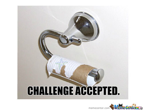 Challenge Accepted.