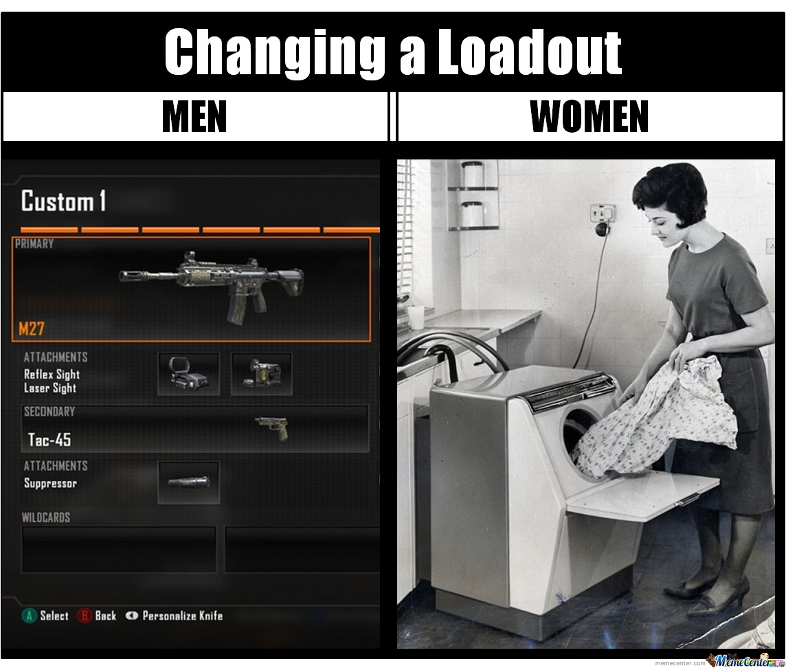 Changing A Loadout