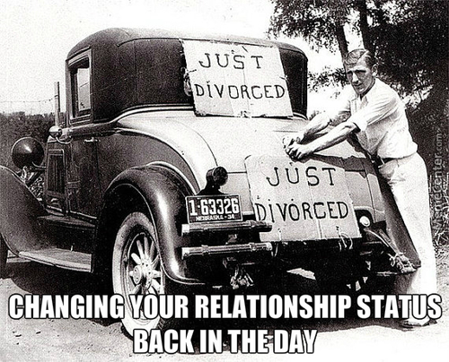 Changing Your Relationship Status But In The Day