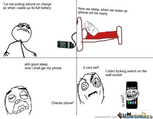 Charging Iphone...