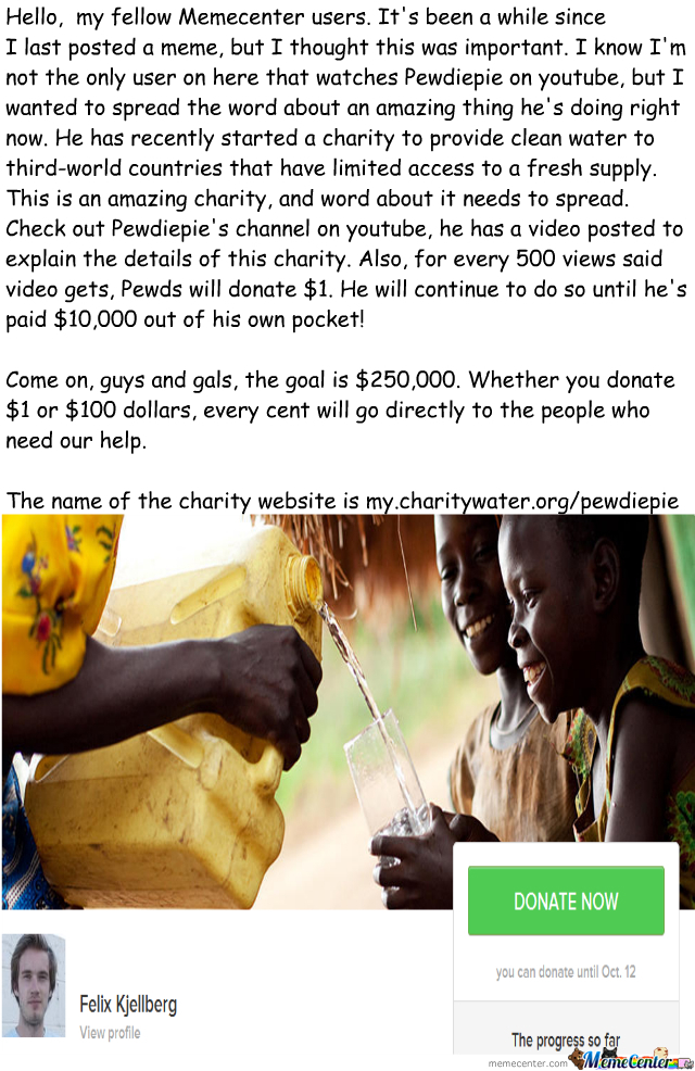 Charity: Water Campaign
