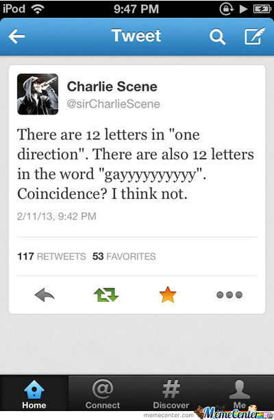 Charlie Is Right.. :)