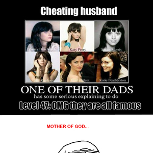 Famous cheating husbands