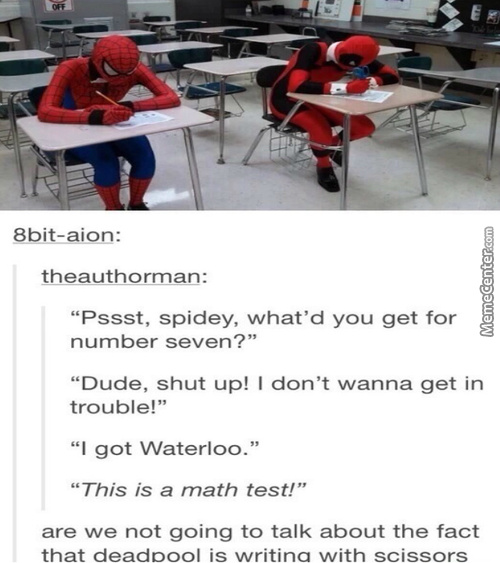 Cheating On A Math Test