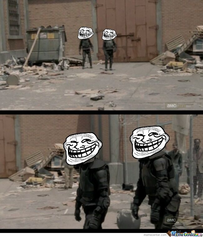 Check Out The Laughing Dead On Facebook!