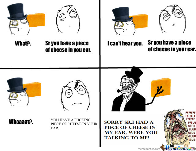 Cheese In The Ear