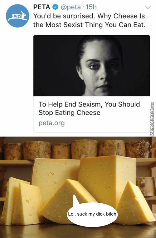 Cheese Is So Sexist, Specially Their Cheesy Words