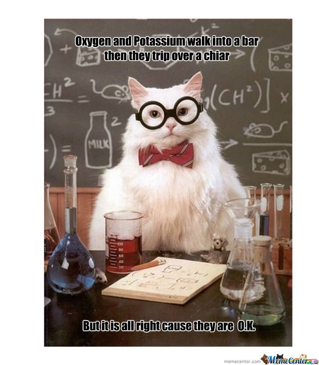 Chemistry Is Funny