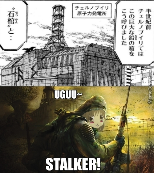 Chernobyl In Manga? Have The Marked One Gone Kawaii?