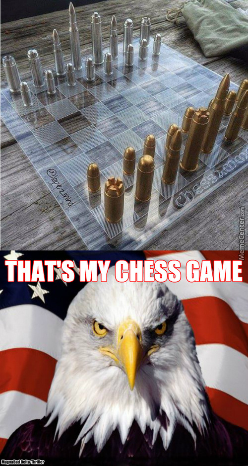 Chess Game, American Style