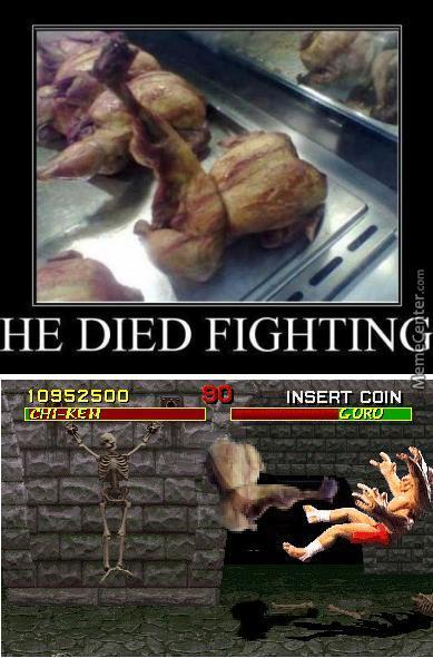 Chi-Ken A Fowl Fighter