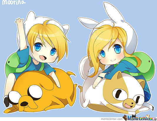 Chibi Adventure Time 1/3Part By:moorina
