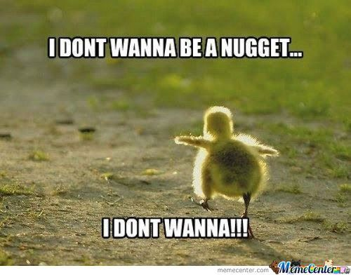 Chicken Nugget On The Run