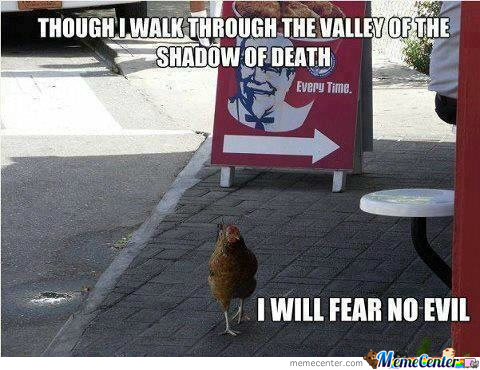 Chicken, You Are The Chosen One