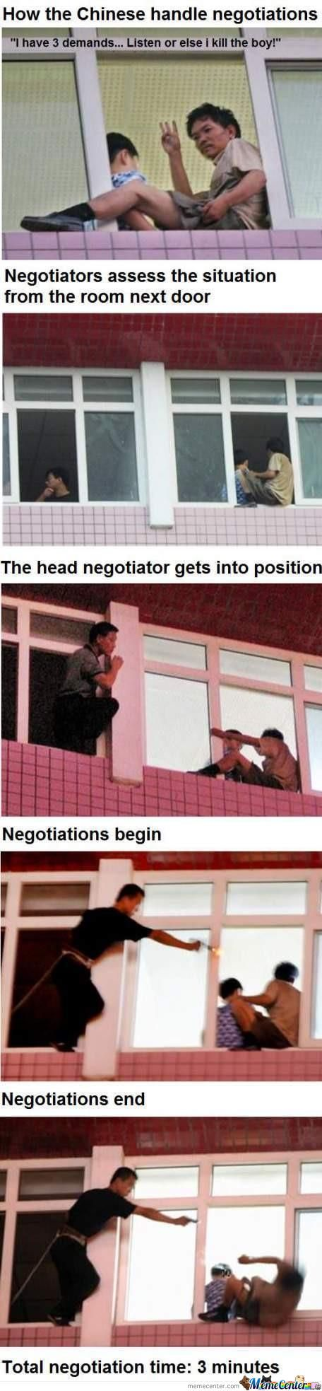 Chinese Negotiations