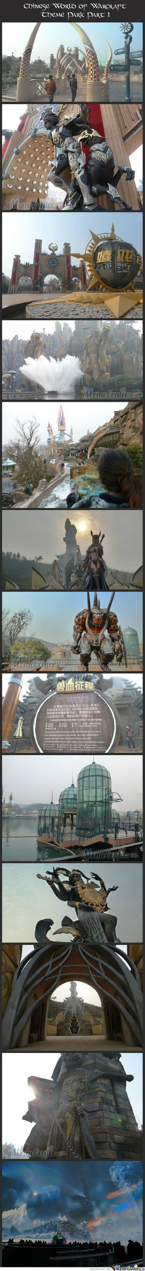 Chinese World Of Warcraft Theme Park. 1/2