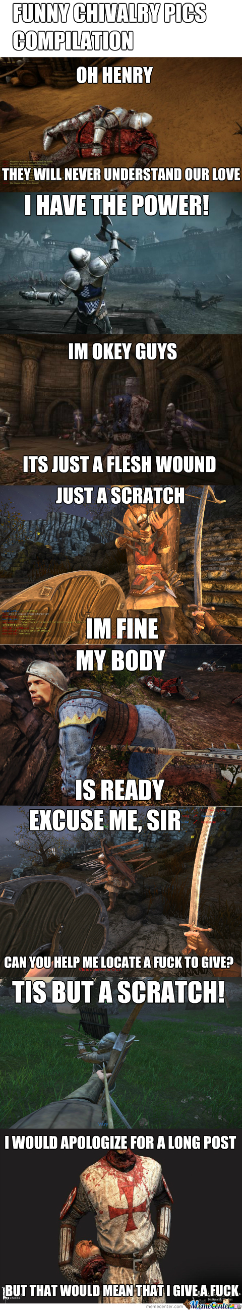 Chivalry Memes Compilation